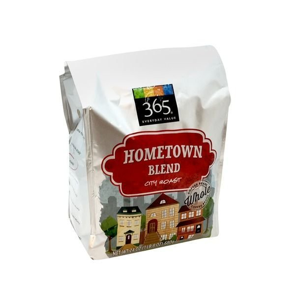 "Ground Coffee, 365® ""Hometown Blend "" City Roast Ground Coffee (24 oz Bag)"