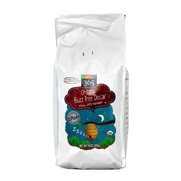 "Bean Coffee, 365® Organic ""Buzz Free Decaf"" French Roast Whole Bean Coffee (24 oz Bag)"