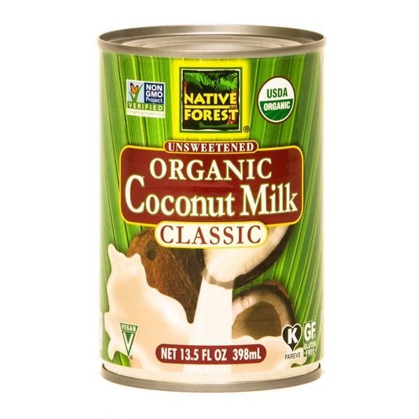 Coconut Milk, Native Forest® Organic Unsweetened Coconut Milk (13.5 oz Can)