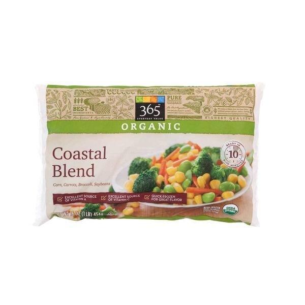 Frozen Vegetables, 365® Organic Coastal Blend Mixed Vegetables (16 oz Bag)