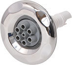 Waterway Jet Internal 5 Scallop 3″ Diameter Stainless Steel Mini Multi-Massage