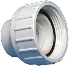 """Waterway Pump Union Assemblies 1-½"""" Union Nut with 1-½"""" Spigot / 1″ S Tailpiece and O-Ring"""