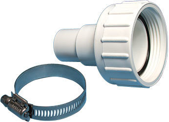 "Waterway Pump Union Assemblies 1-½"" Union Nut with 1-½"" / 1-¼"" Hose Adapter and O-Ring"