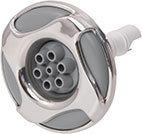Waterway Jet Internal Reverse Swirl 3-5/16″ Diameter Stainless Steel Mini Multi-Massage