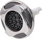 Waterway Jet Internal Reverse Swirl 3-5/8″ Diameter Stainless Steel Poly Multi-Massage