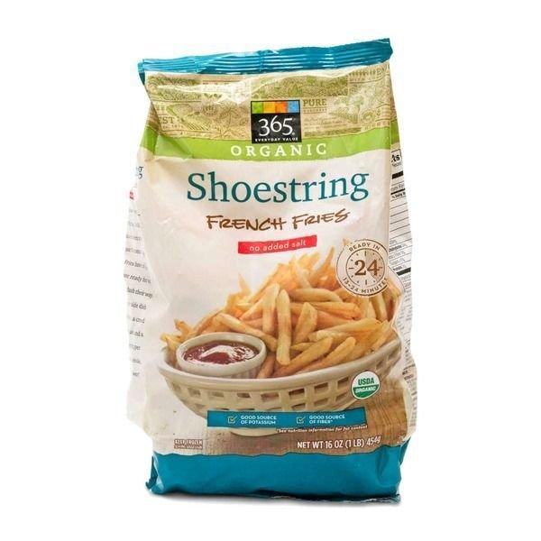 "Frozen Potatoes, 365® Organic ""Shoestring"" French Fries (16 oz Bag)"
