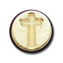 Wax Envelope Seal | 821-H Christian Cross