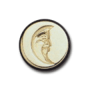 Wax Envelope Seal | 889-H Moon Face