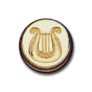 Wax Envelope Seal | 854-H Celtic Harp
