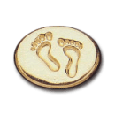 Wax Envelope Seal | 818-H Bare Foot Steps