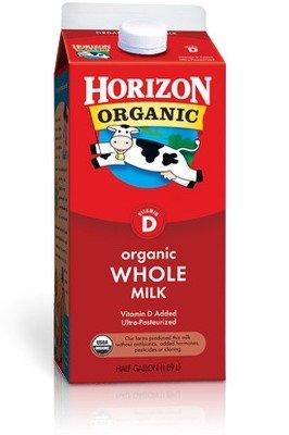 Dairy Milk, Horizon® Organic Whole Milk (½ Gallon Carton)