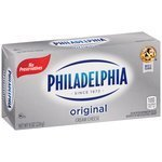 Cream Cheese, Kraft® Philadelphia® Block Cream Cheese (8.0 oz Box)