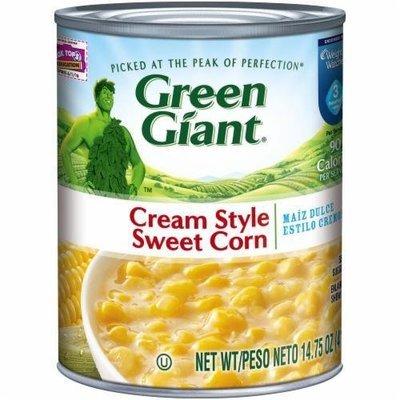 Canned Corn, Green Giant® Cream Style Sweet Corn (14.75 oz Can)