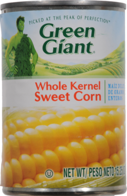 Canned Corn, Green Giant® Whole Kernel Sweet Corn (15.25 oz Can)