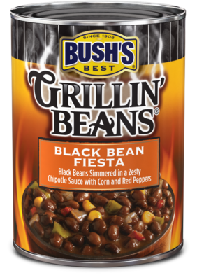 Canned Ranchero Beans, Bush's® Grillin' Beans® Texas Ranchero Beans (15.5 oz Can)
