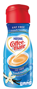 Coffee Creamer, Coffee-Mate® French Vanilla, Fat Free (32 oz Bottle)