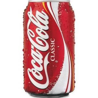 Soda, Coke® Soda (Single 12 oz Can)