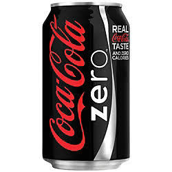 Soda, Coke® Zero® Soda (Single 12 oz Can)