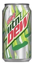 Soda, Diet Mountain Dew® Soda (Single 12 oz Can)