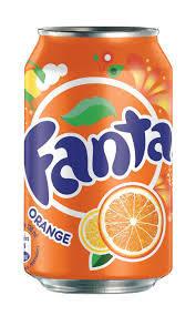Soda, Fanta® Orange Soda (Single 12 oz Can)