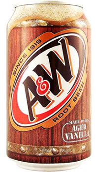 Soda, A&W® Root Beer Soda (Single 12 oz Can)