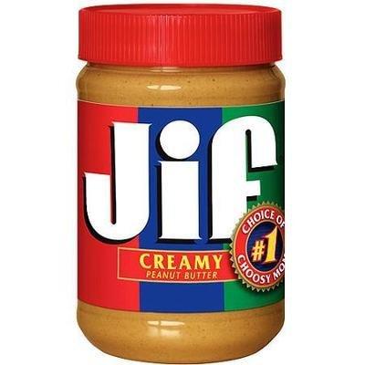 Peanut Butter, Jif® Creamy Peanut Butter (28 oz Jar)