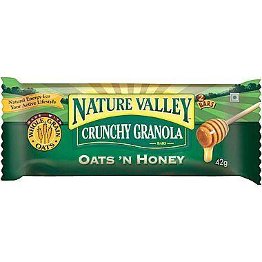 Snack Bar, Nature Valley® Oats & Honey Crunchy Granola Bar (1.5 oz Bag)