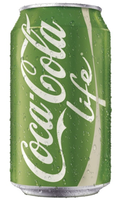 Soda, Coke® Life® Soda (Single 12 oz Can)