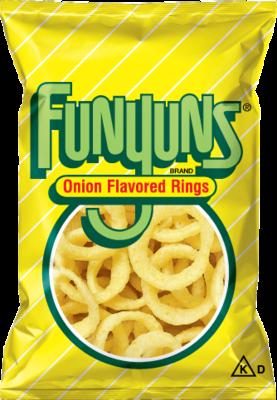 Onion Rings, Funyuns® Onion Flavored Rings (6 oz Bag)