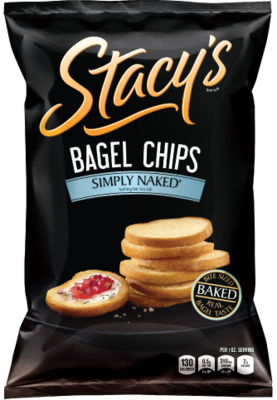 Bagel Chips, Stacy's® Simply Naked® Bagel Chips (8 ox Bag)