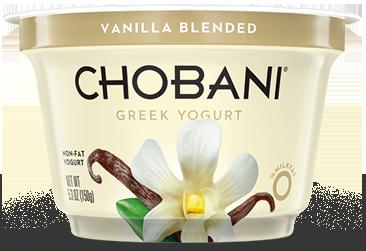 Yogurt, Chobani® Greek Vanilla 0% Yogurt (5.3 oz Cup)
