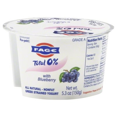 Yogurt, Fage® Greek Yogurt, Blueberry