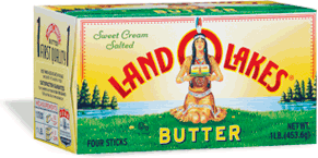 Salted Butter, Land O Lakes® Salted Stick Butter (16 oz Box)