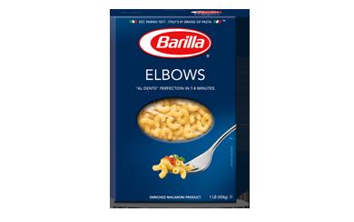 Pasta, Barilla® Elbows Macaroni Pasta (16 oz Box)