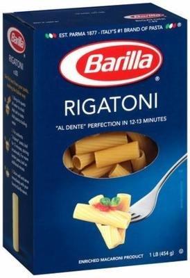 Pasta, Barilla® Rigatoni Pasta (16 oz Box)