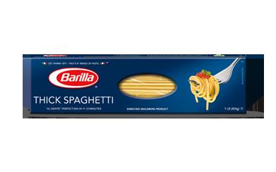 Pasta, Barilla® Thick Spaghetti Pasta (16 oz Box)