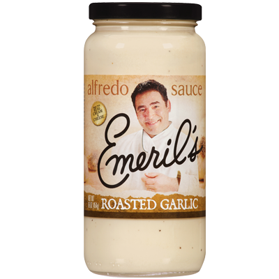 Alfredo Pasta Sauce, Emeril's® Roasted Garlic Alfredo Sauce (24 oz Jar)