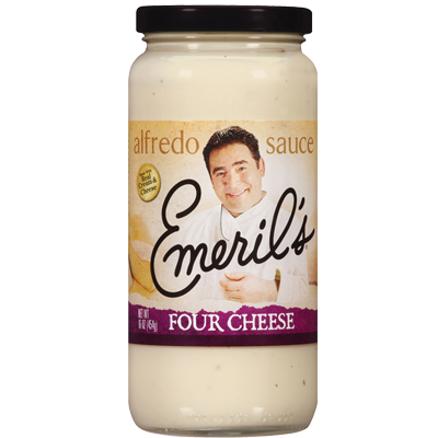 Alfredo Pasta Sauce, Emeril's® Four Cheese Alfredo Sauce (24 oz Jar)