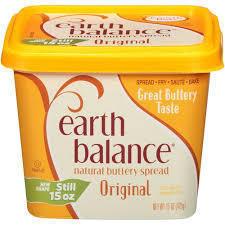 Butter, Earth Balance® Original Buttery Spread (15 oz Tub)