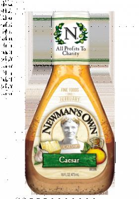 Salad Dressing, Newman's Own® Lite Cranberry Walnut Vinaigrette Salad Dressing (16 oz Bottle)