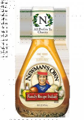 Salad Dressing, Newman's Own® Italian Family Recipe Salad Dressing (16 oz Bottle)