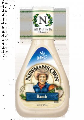 Salad Dressing, Newman's Own® Ranch Salad Dressing (16 oz Bottle)