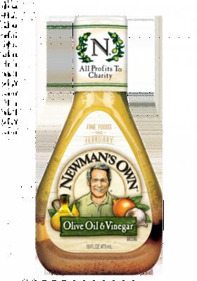 Salad Dressing, Newman's Own® Olive Oil and Vinegar Salad Dressing (16 oz Bottle)