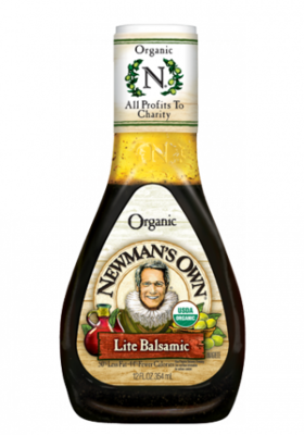 Salad Dressing, Newman's Own® Lite Balsamic Salad Dressing (16 oz Bottle)
