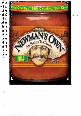 Salsa, Newman's Own® Mild Chunky Salsa (16 oz Jar)