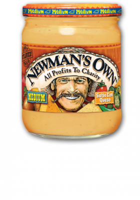 Salsa, Newman's Own® Medium Salsa Con Queso (16 oz Jar)