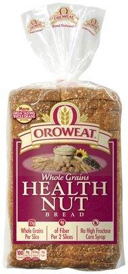 Loaf Bread, Oroweat® Health Nut® Bread (24 oz Bag)