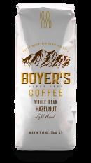 Ground Coffee, Boyer's® Hazelnut Ground Coffee (12 oz Bag)