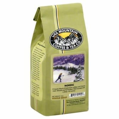 Bean Coffee, Vail Mountain Coffee® Nordic Blend™ Whole Bean Coffee (12 oz Bag)