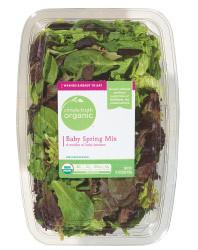 Fresh Salad Greens, Simple Truth Organic™ Salad Baby Spring Mix (16 oz Tray)